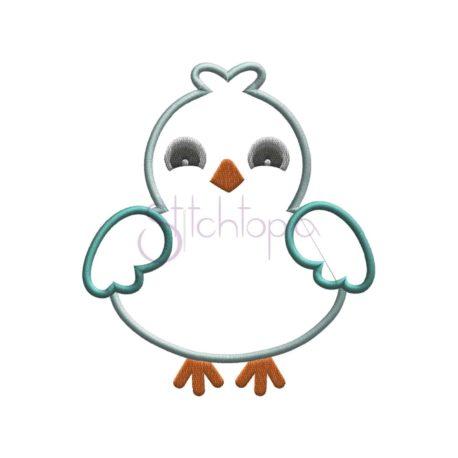 Stitchtopia Boy Bird Applique b