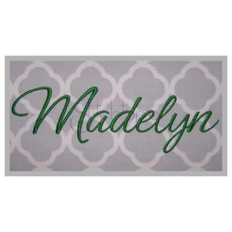 Stitchtopia Madelyn Monogram Set