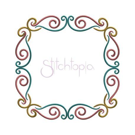 Stitchtopia Elegant Flourish Frame 2
