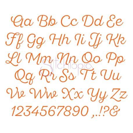 Stitchtopia Quinn Monogram Set All Letters
