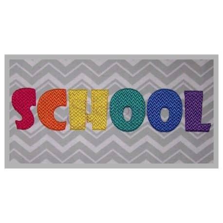 Stitchtopia School Monogram Set