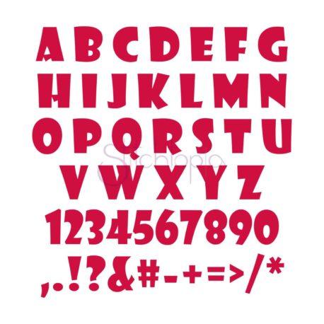 Stitchtopia School Monogram Set All Letters