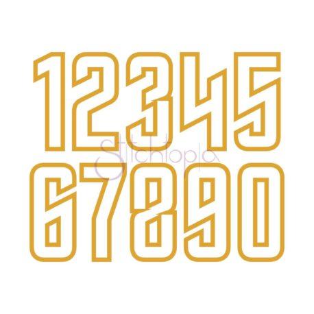 Stitchtopia Spock Applique Numbers Set