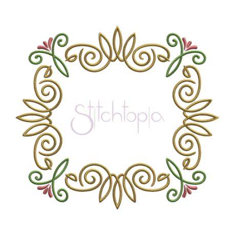 Stitchtopia Elegant Flourish 3 Frame