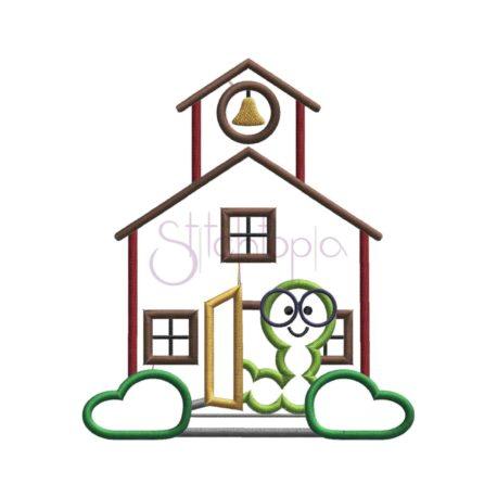 Stitchtopia Schoolhouse Applique