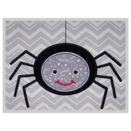 Stitchtopia Spider Applique Design