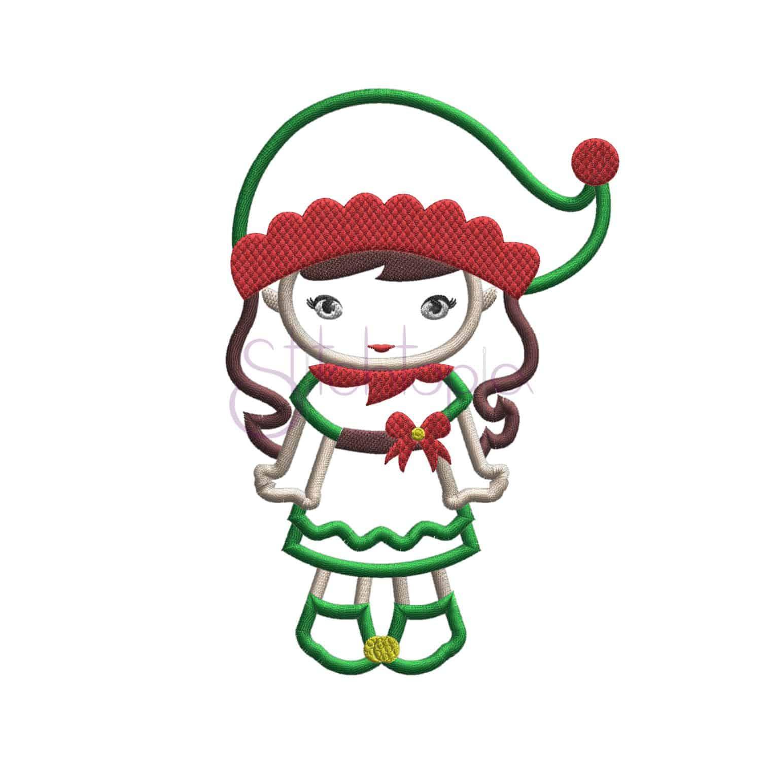 christmas applique design set stitchtopia