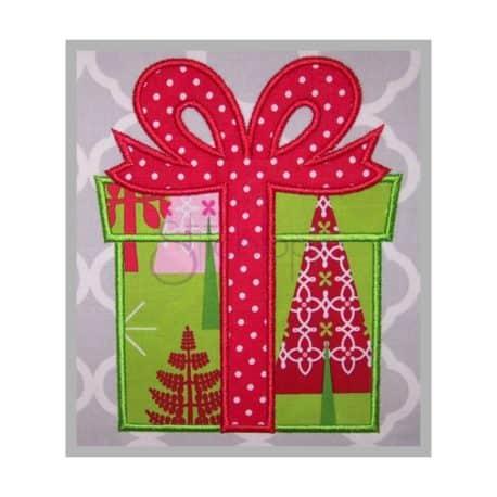 Stitchtopia Christmas Present Applique