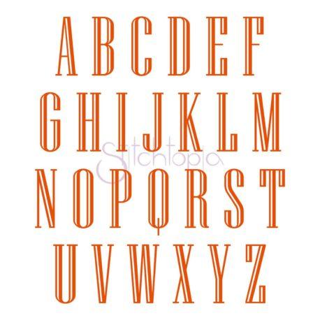 Stitchtopia Engraved Monogram Set - All Letters