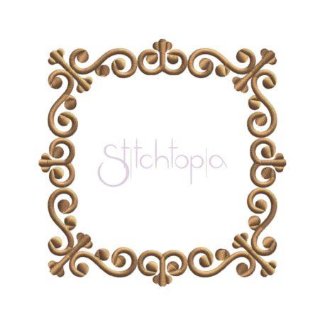 Stitchtopia Victorian Square Frame #1