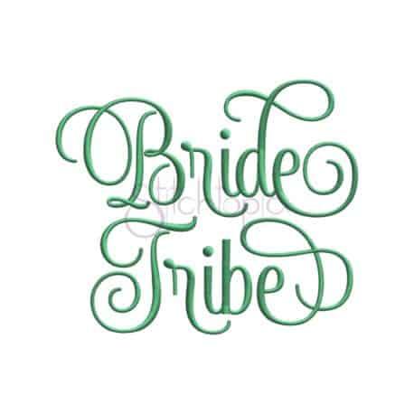 Bride Tribe Embroidery Design