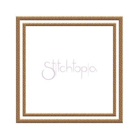 Stitchtopia Tweed Double Square Frame