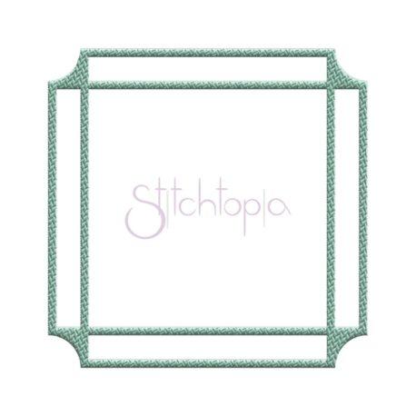 Stitchtopia Tweed Square Frame #2