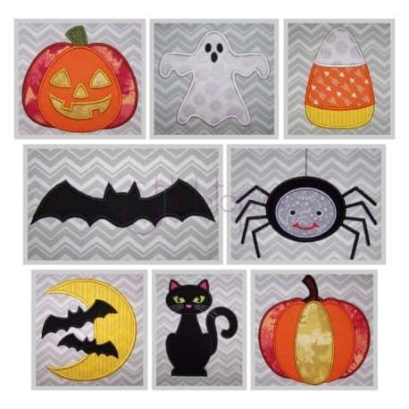 Halloween Applique Design Set