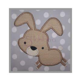 Forest Animals Bunny Applique Design
