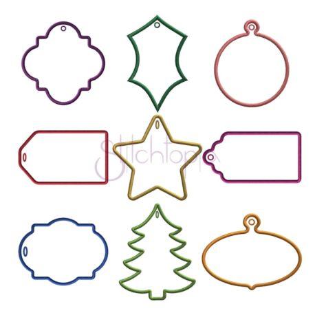 Stitchtopia Christmas Gift Tag Set