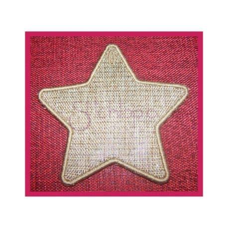 Stitchtopia Star Gift Tag
