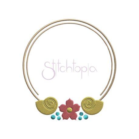 Stitchtopia Beach Embroidery Frame