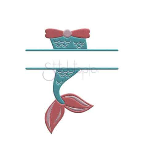 Stitchtopia Mermaid Embroidery Frame