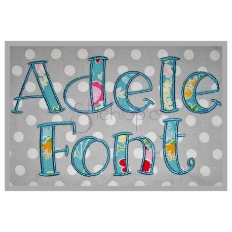 Adele Applique Font