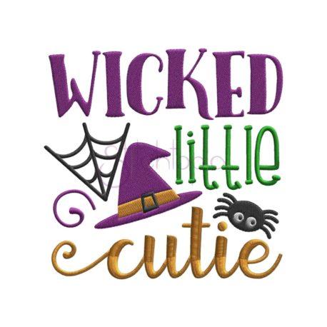 Stitchtopia Wicked Little Cutie Embroidery Design