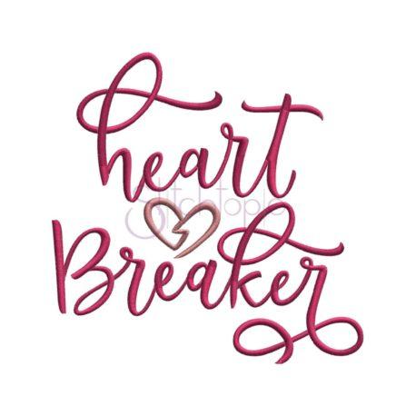 Stitchtopia Heart Breaker Embroidery Design