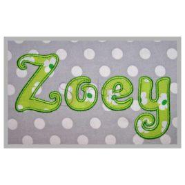 Zoey Applique Font – 2″ 2.5″ 3″ 4″