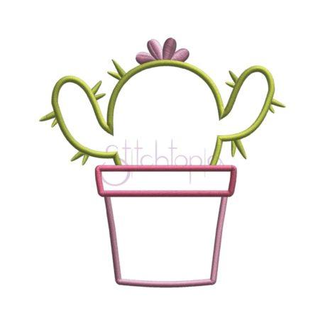 Stitchtopia Cactus Applique Design