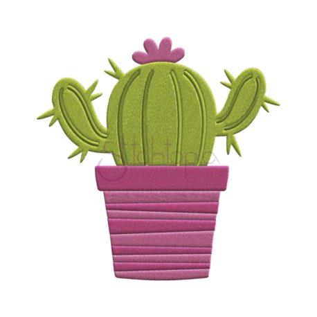 Stitchtopia Cactus Embroidery Design