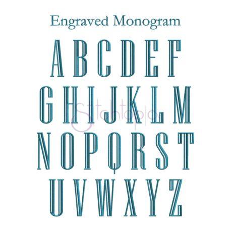 Stitchtopia Elegant Monogram - All Letters