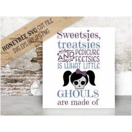Sweetsies Treatsies Little Ghouls SVG Cut File