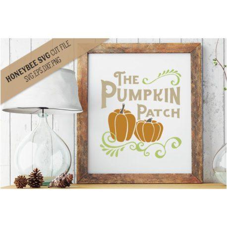 HoneybeeSVG The Pumpkin Patch SVG Cut File