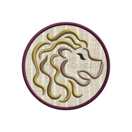 Stitchtopia Zodiac Applique Design - Leo