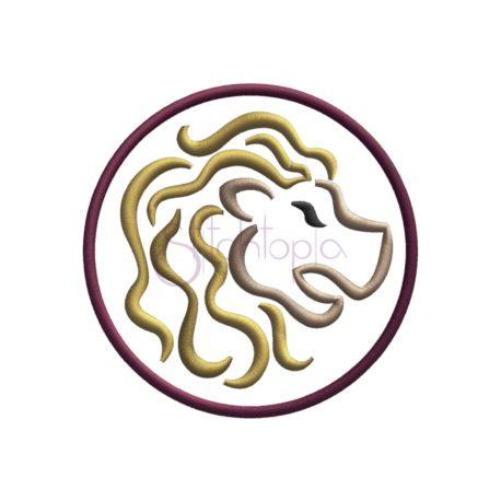 Stitchtopia Zodiac Applique Design – Leo b