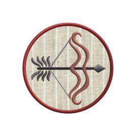 Zodiac Applique Design – Sagittarius