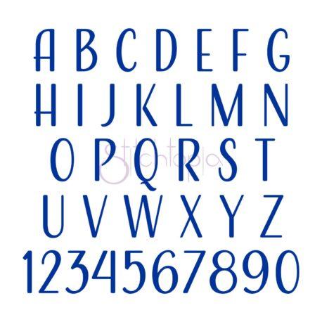 Stitchtopia Caleb Monogram Font