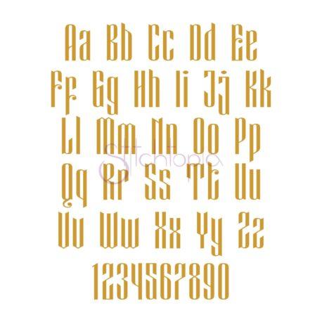 Stitchtopia Modern Monogram Font