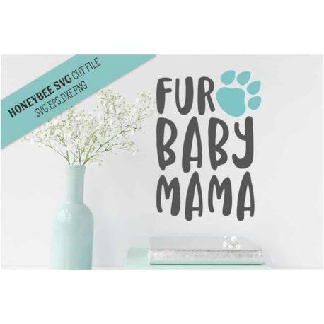 Stitchtopia HoneybeeSVG Fur Baby Mama SVG Cut File