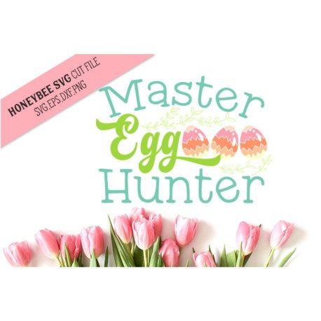 HoneybeeSVG Master Egg Hunter SVG Cut Files