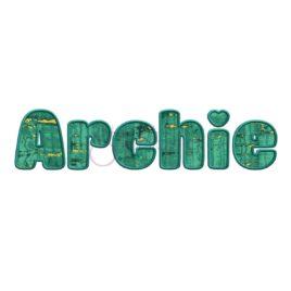 Archie Applique Font – 2″ 2.5″ 3″ 4″