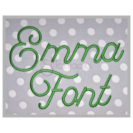Stitchtopia Emma Embroidery Font