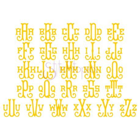 Stitchtopia Baroque Embroidery Monogram - All Letters