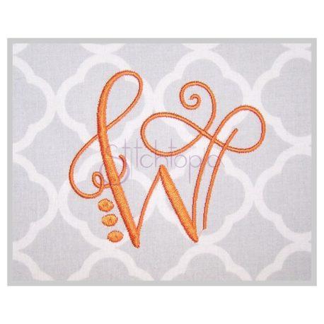 Stitchtopia Lovely Embroidery Monogram