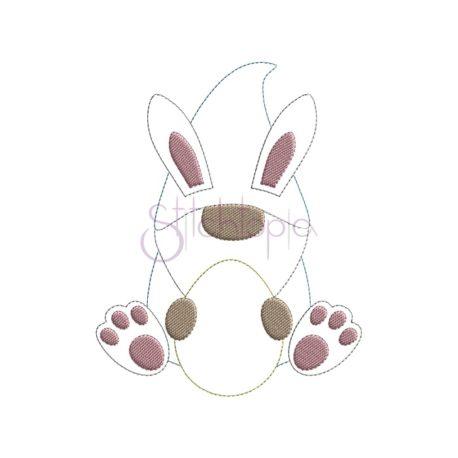 Stitchtopia Bean Stitch Bunny Gnome Applique