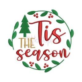 Tis The Season 2 Embroidery Design