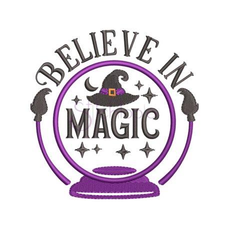 Stitchtopia Believe In Magic Embroidery Design