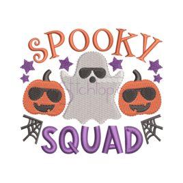 Spooky Squad Embroidery Design